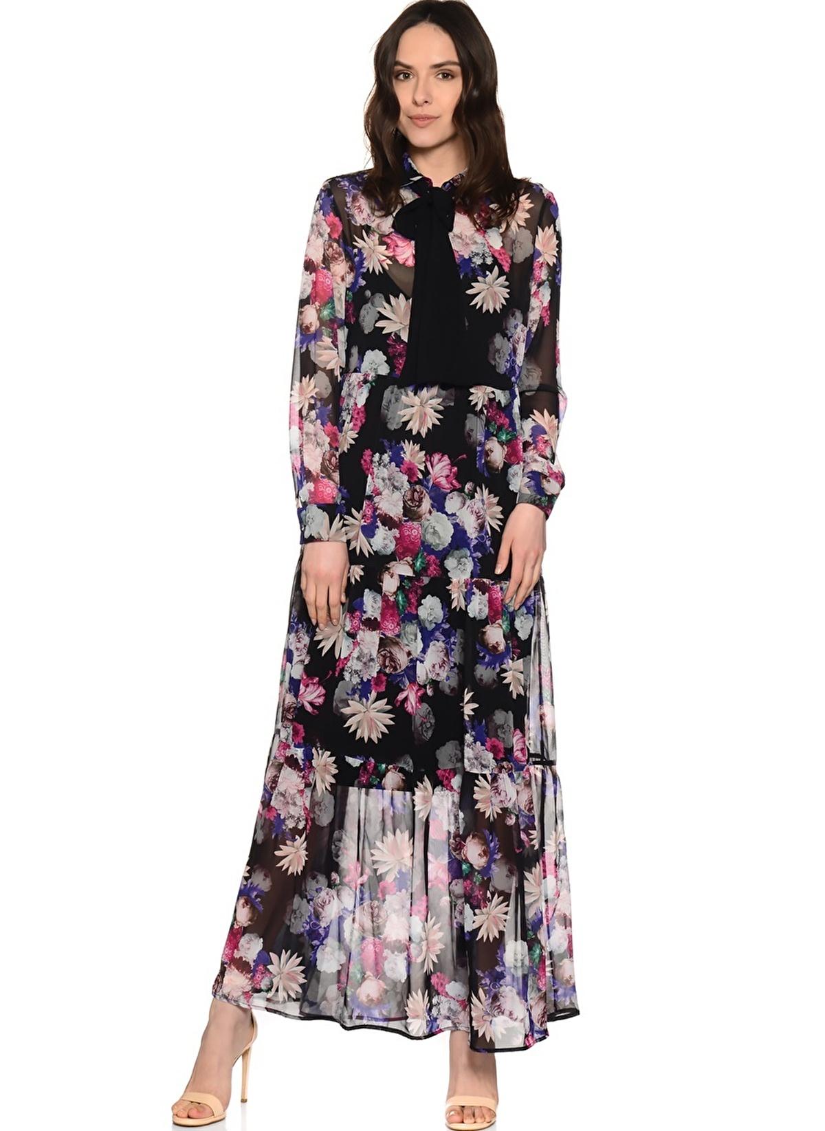 House Of Camellia Elbise 71jan Hoc078 Hc Elbise Prınt – 99.99 TL
